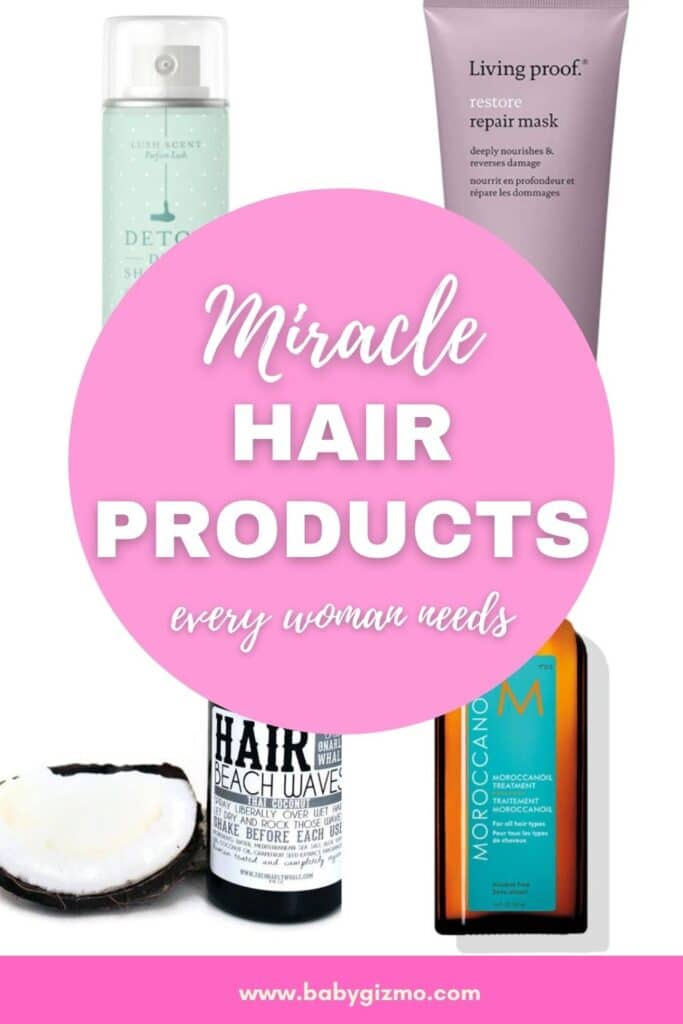 best hair products for women