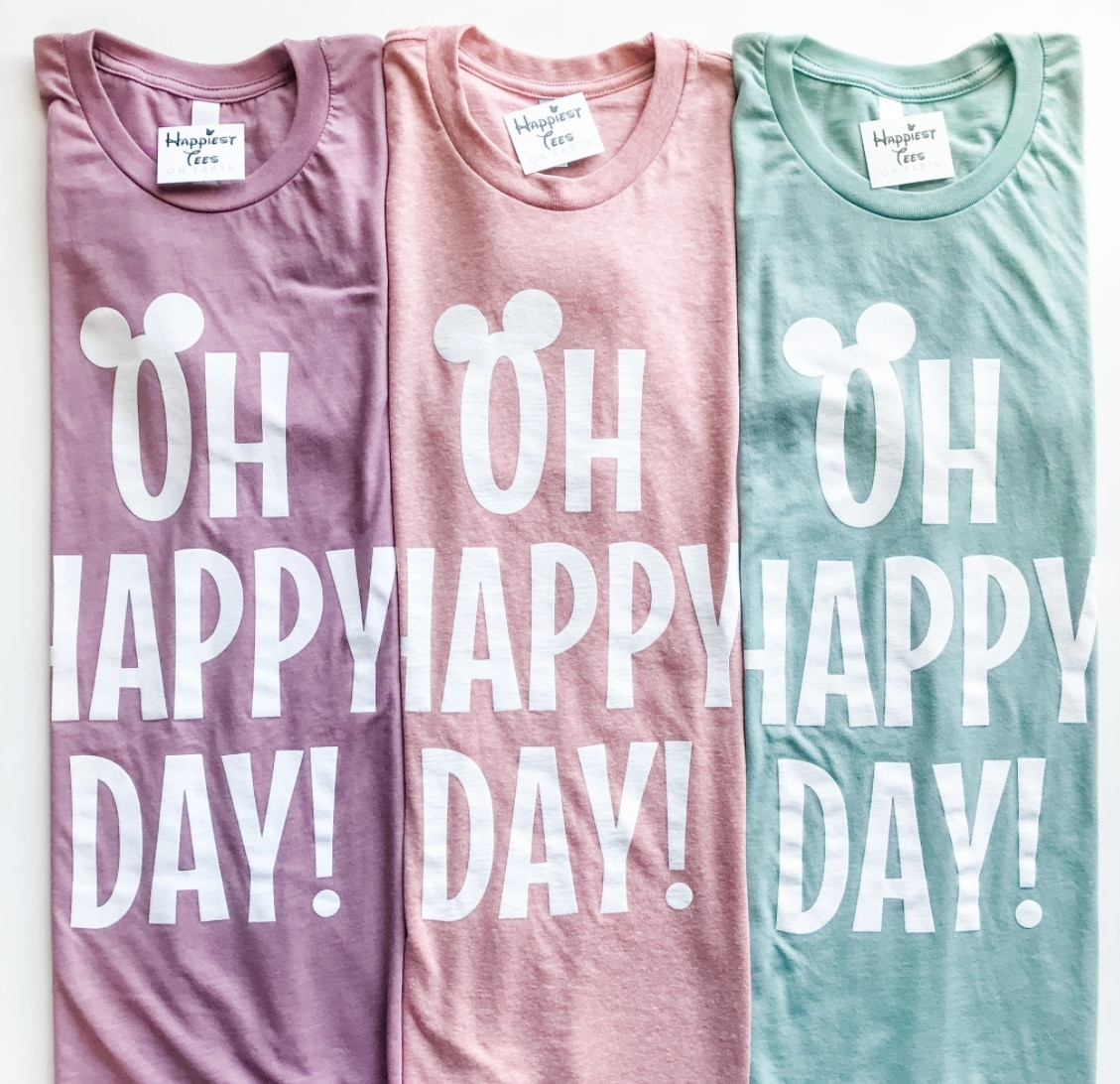 oh happy day tshirts