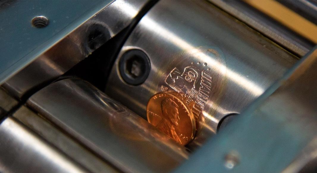 pressed coins at disneyland