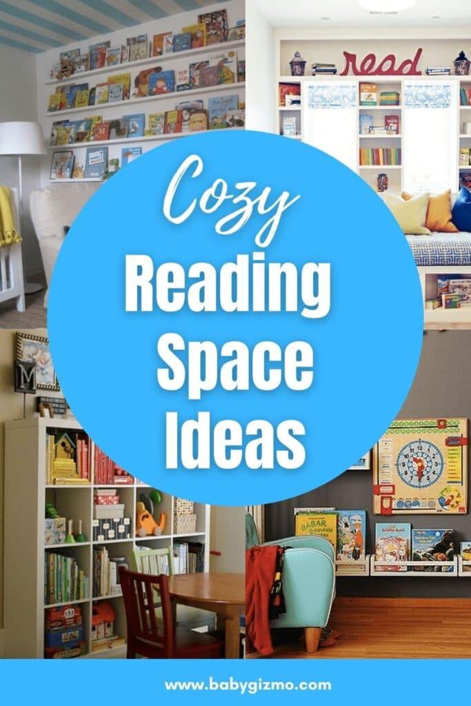 cozy reading space ideas