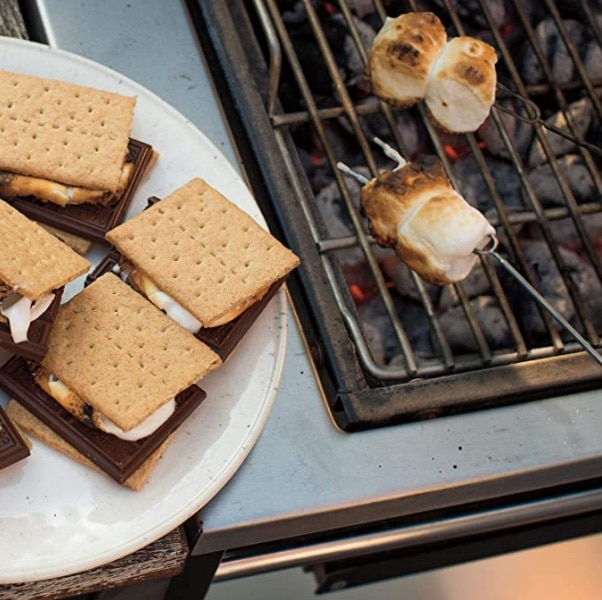 smores on a grill