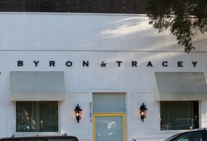 Byron and Tracey salon