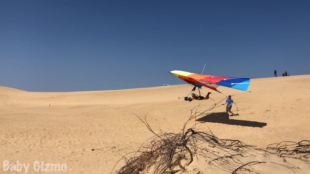 hang gliding lessons