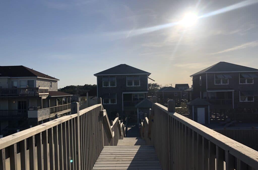outer banks cottages oceanside