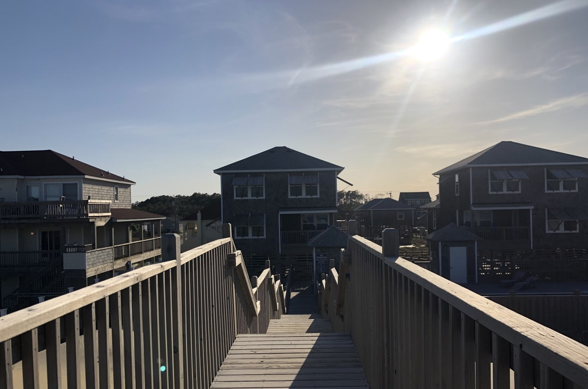 outer banks cottages