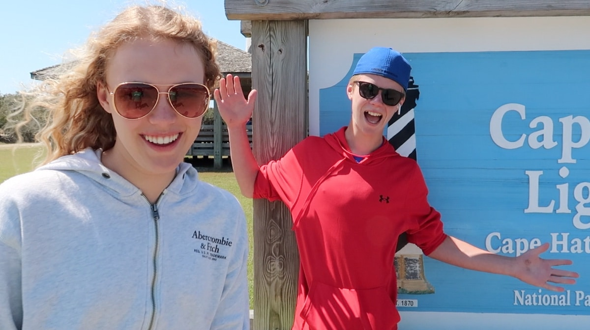 teens in outer banks