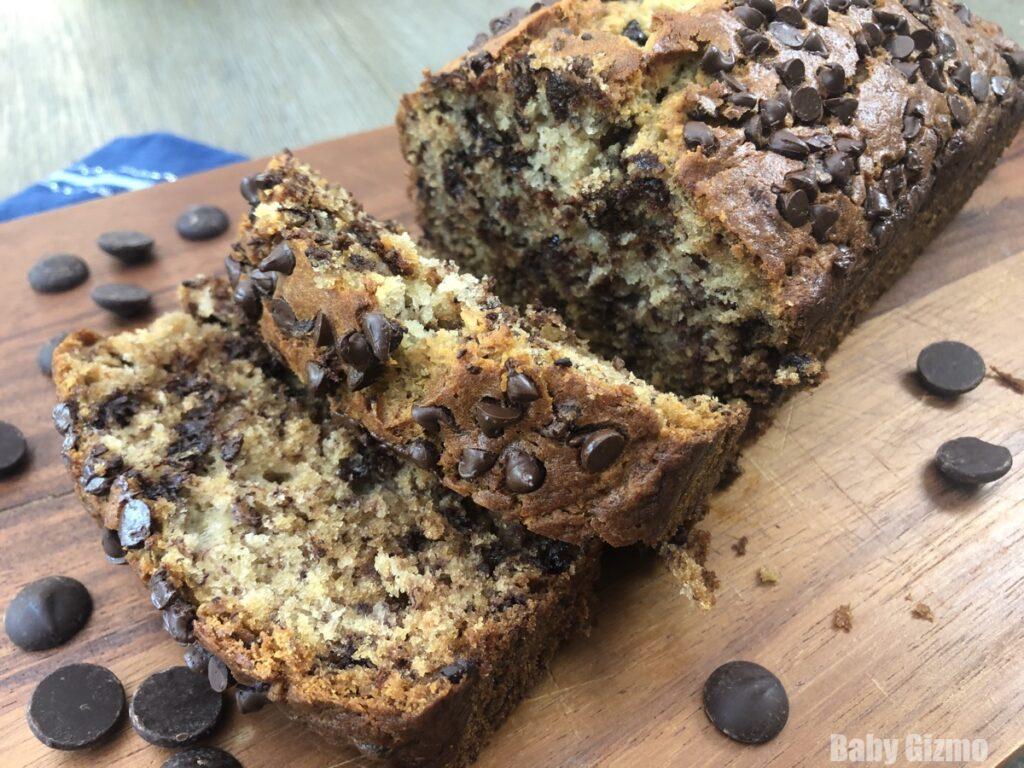 chocolate in banana bread