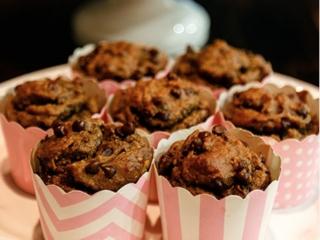 bananas mini muffins