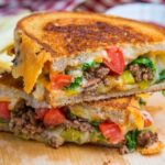 double bacon grilled cheese