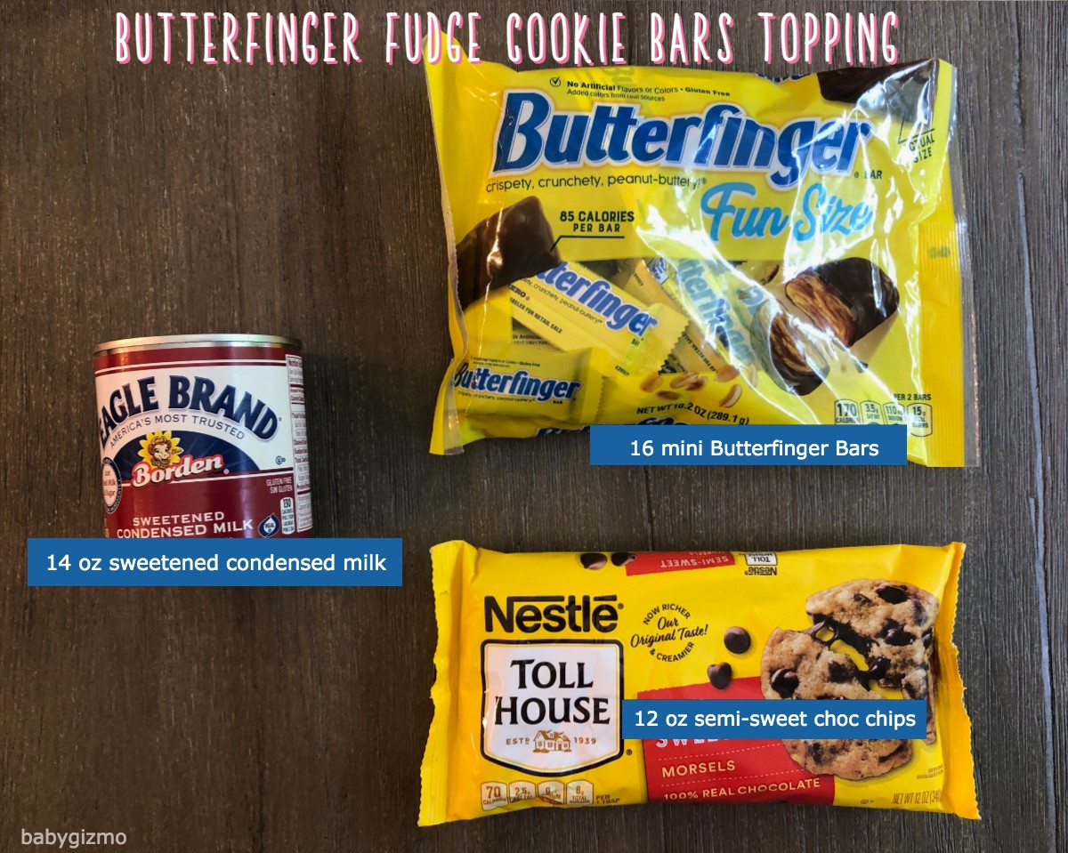 butterfinger cookie bars topping ingredients