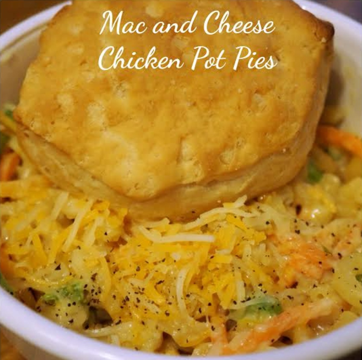 mac and cheese pot pies