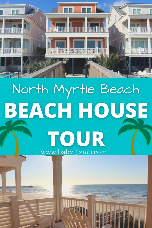north myrtle beach house tour