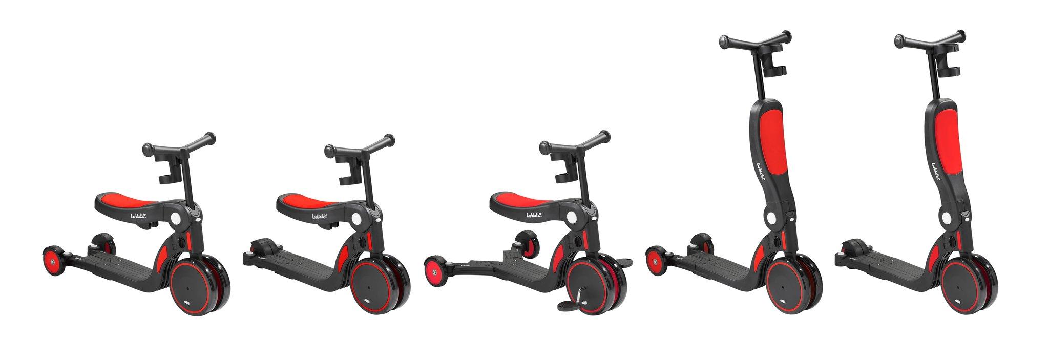 Scoobi scooter by larktale in red