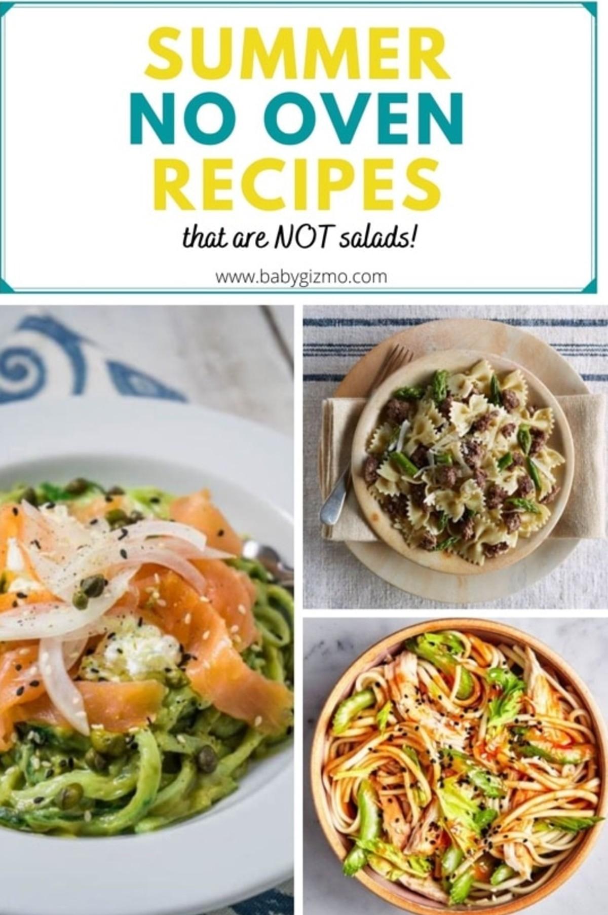 Summer No Oven Recipes