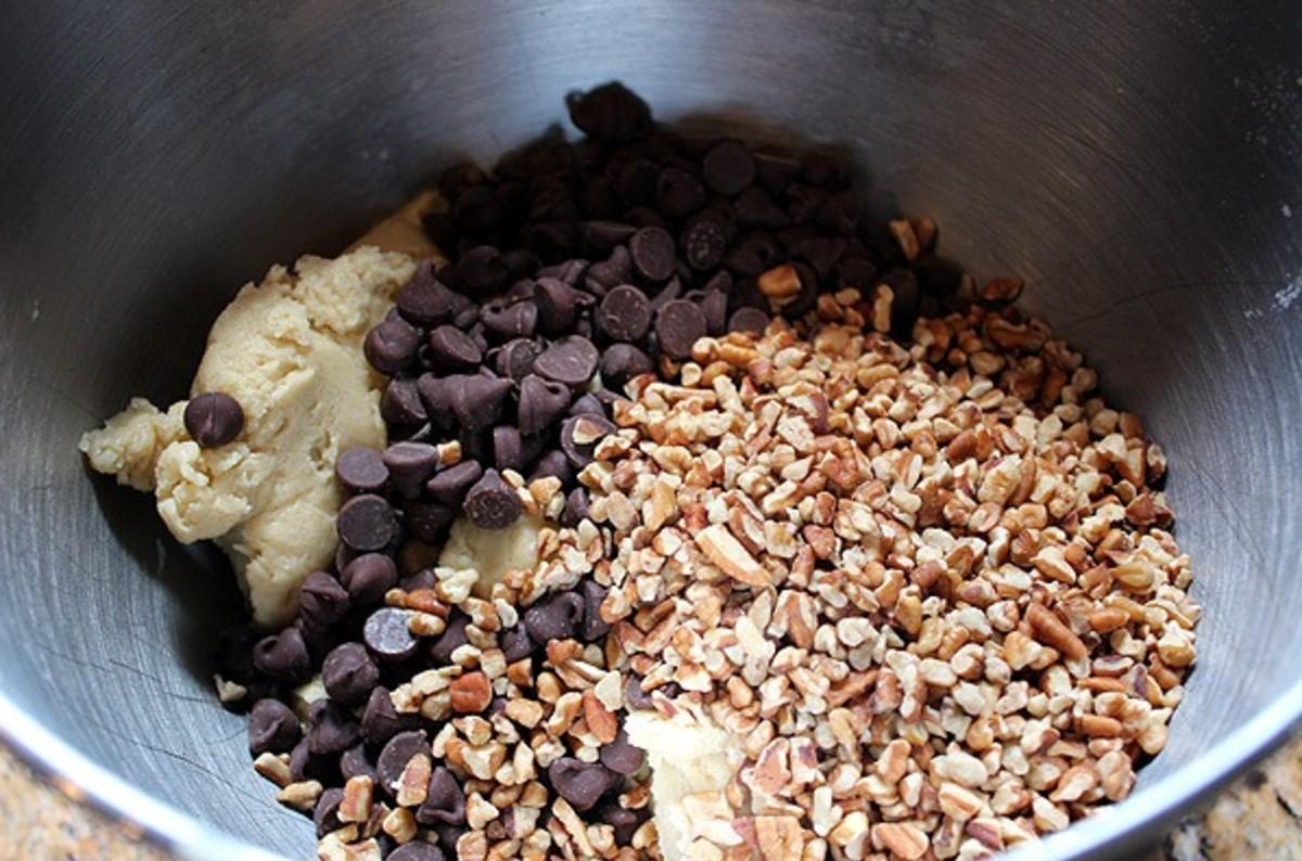 Toffee Bar Ingredients