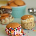 ice cream sandwiches with vanilla sandwiches