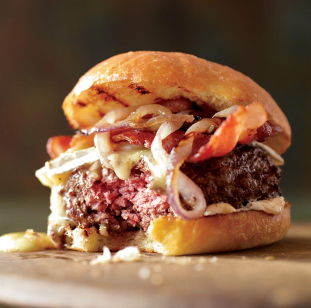 bacon broche burger