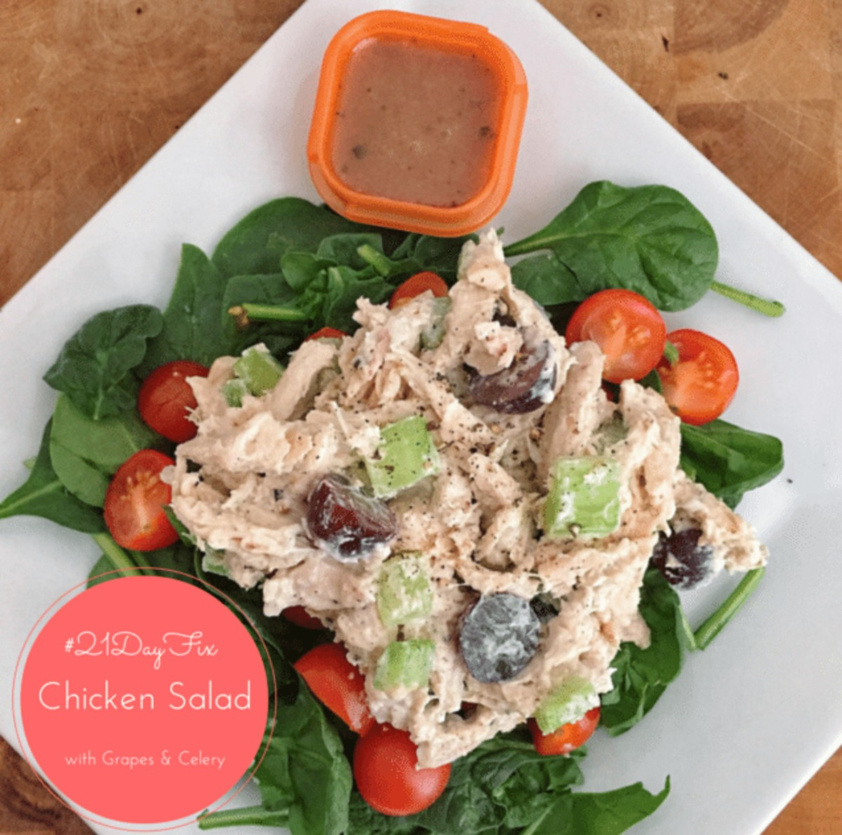 chicken salad 21 day fix