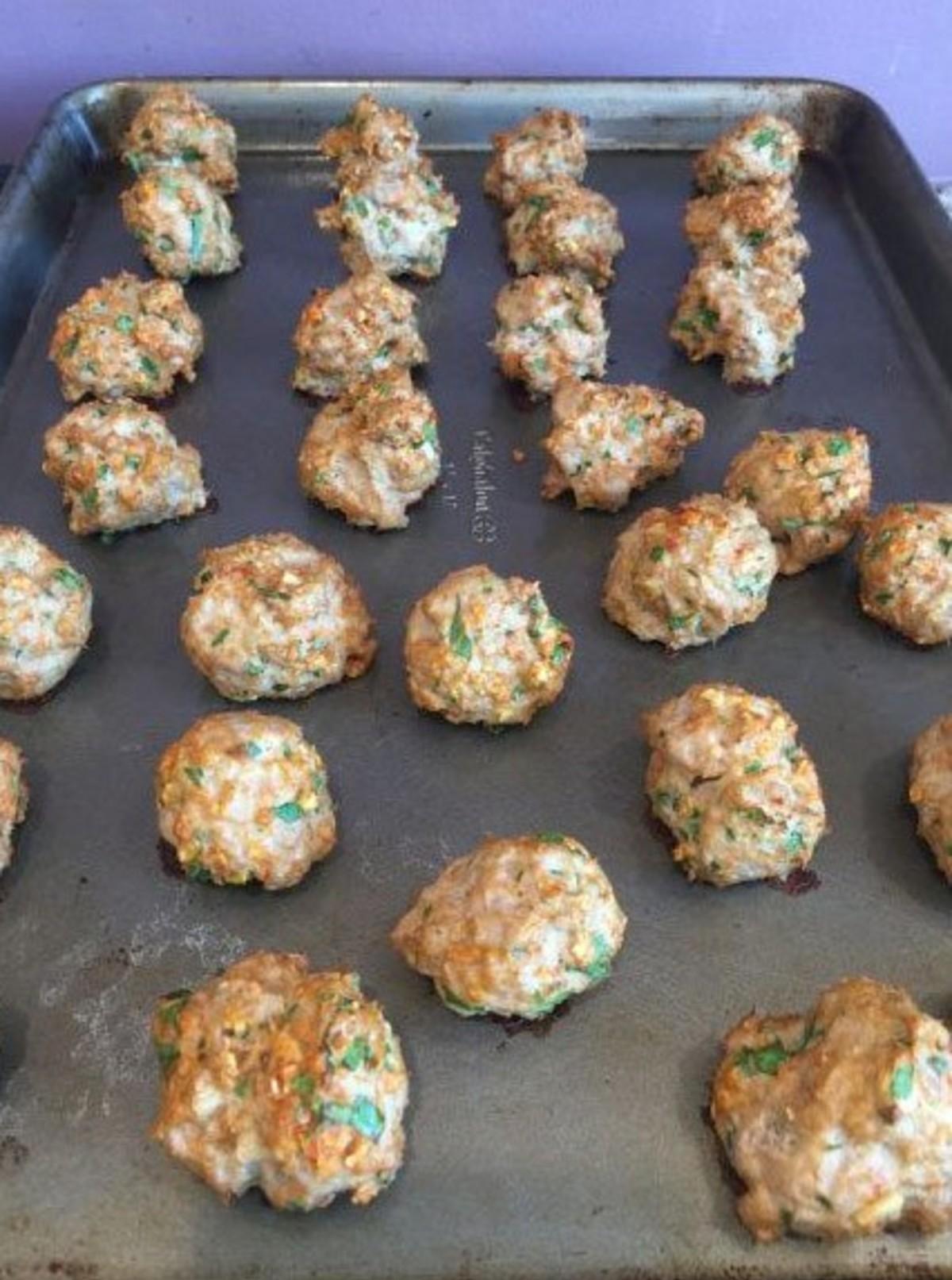 21 day fix meatballs