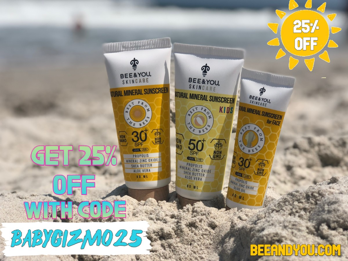 beeandyou discount code natural sunscreen