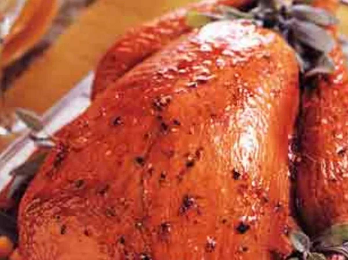 Citrus-Glazed Turkey with Chipotle Gravy