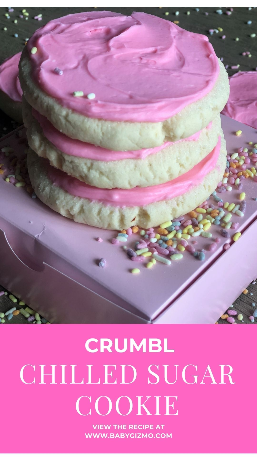 Crumbl sugar cookie recipe