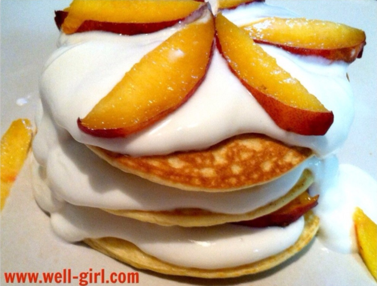 Peaches and Pancakes