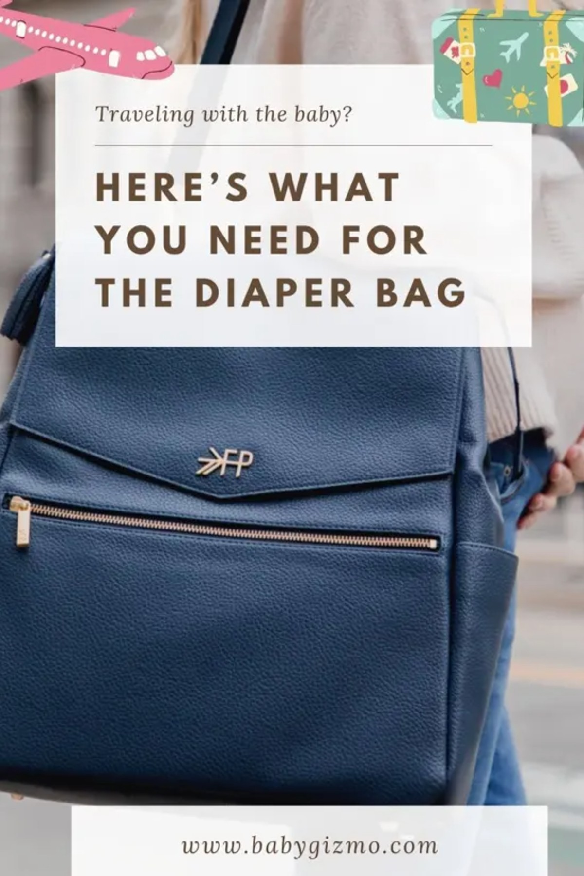 what you need in your diaper bag