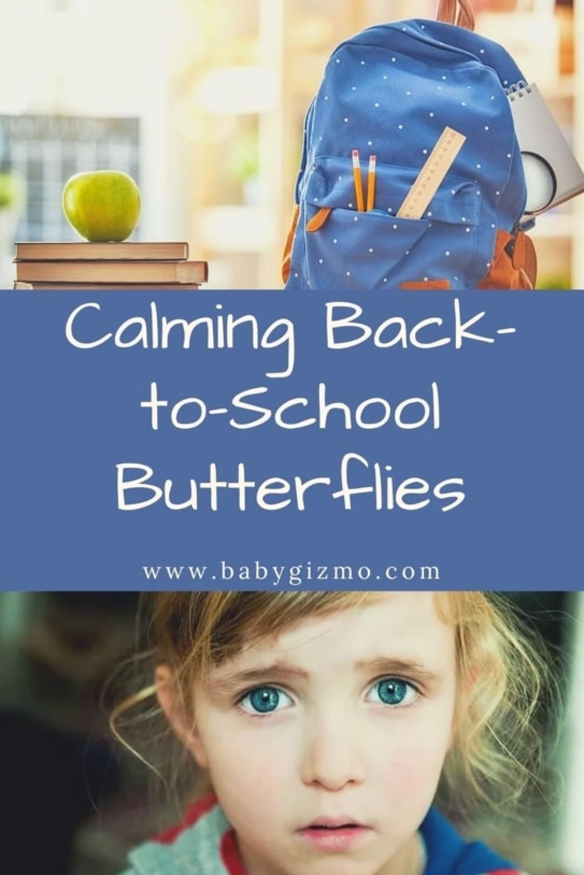 back to school butterflies