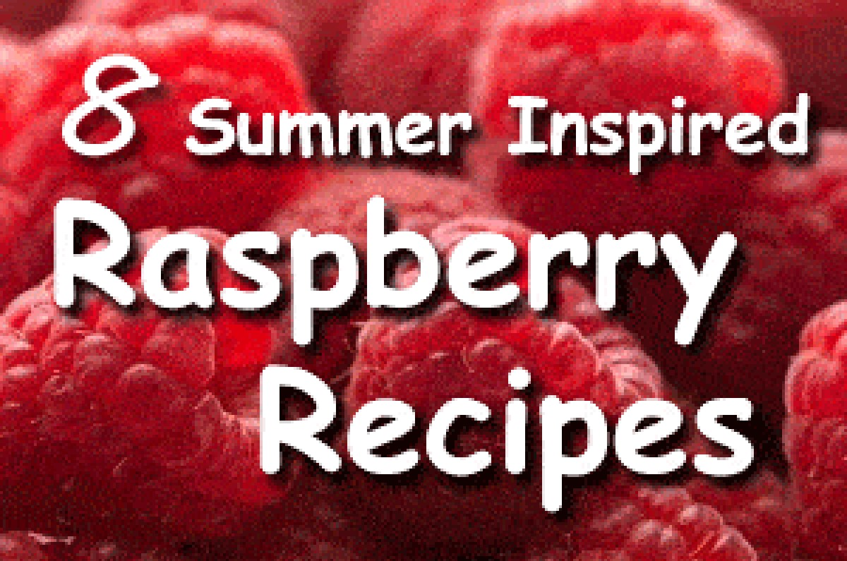 8 summer inspired raspberry recipes