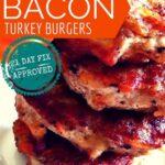 bacon turkey burgers