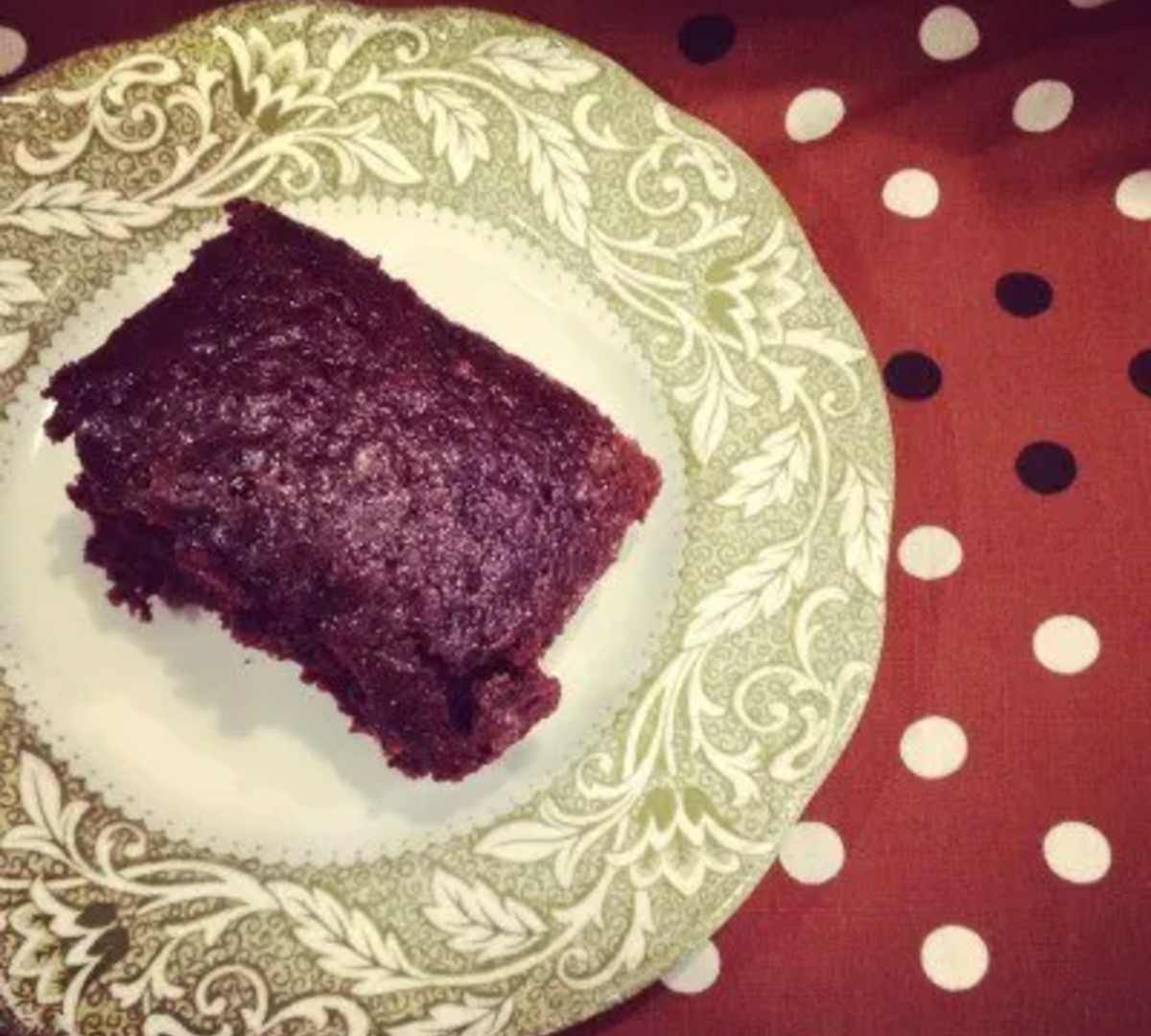 Aunt Dot's Crazy Cake