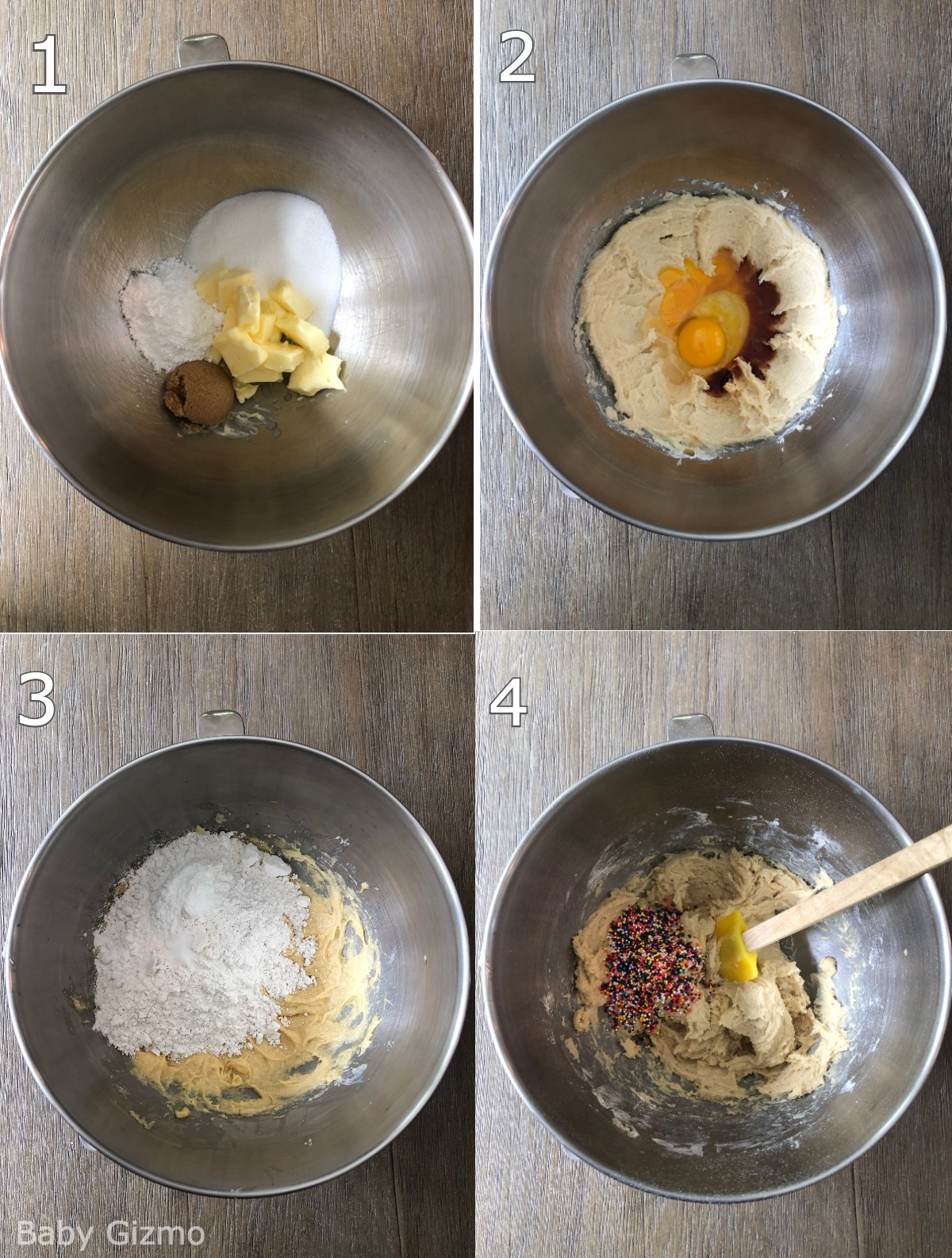 How to make cookies in a bowl
