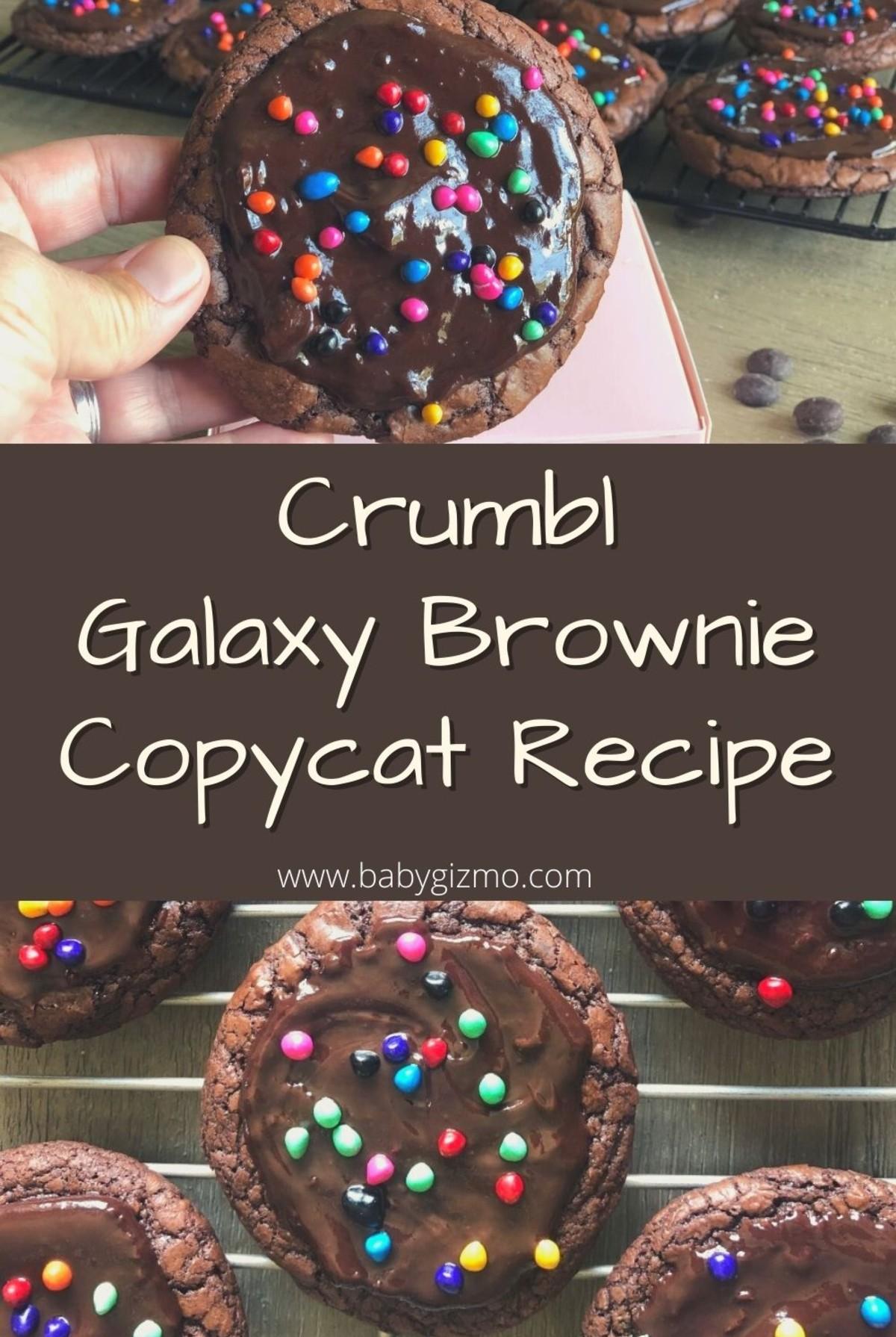 Galaxy Brownie Pin