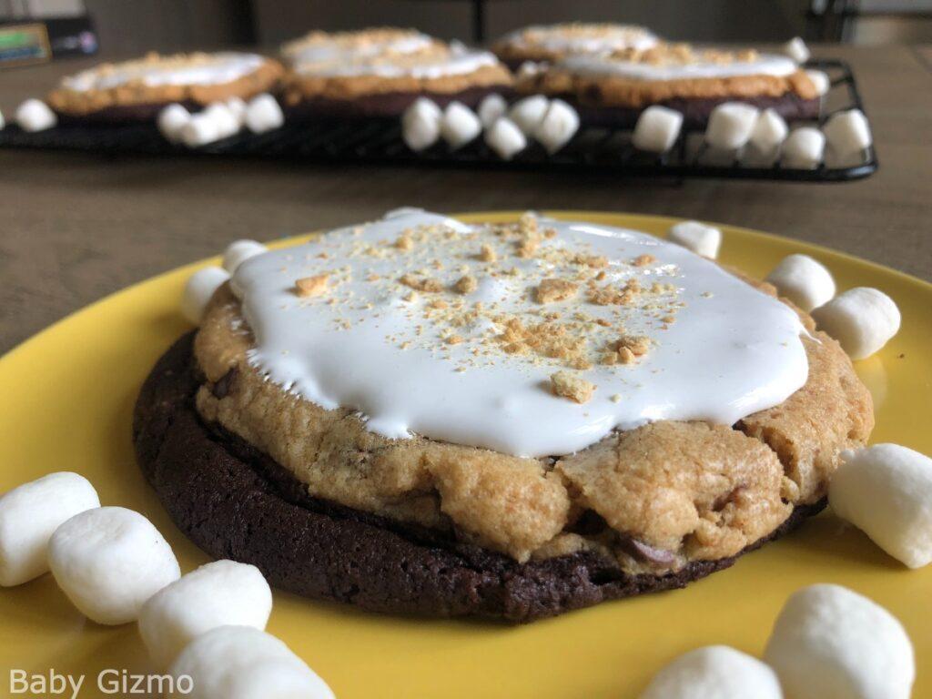 S'mores Brownie Cookie
