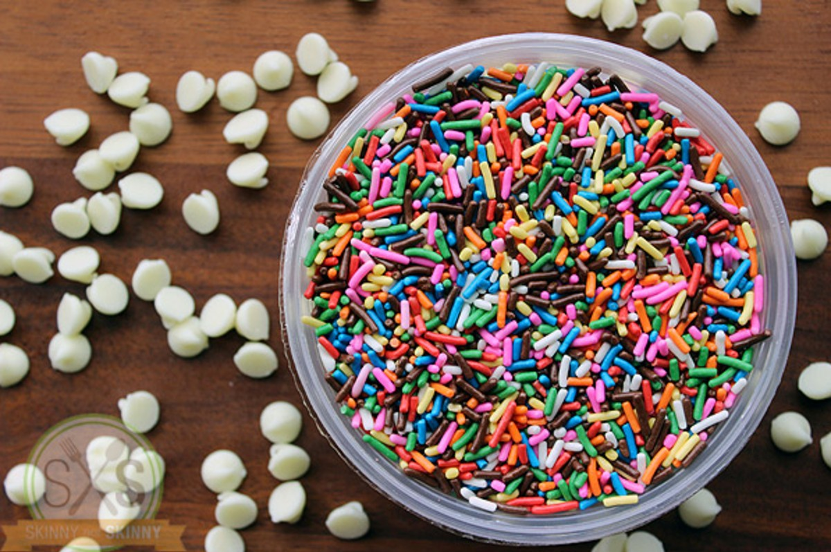 bowl of sprinkles