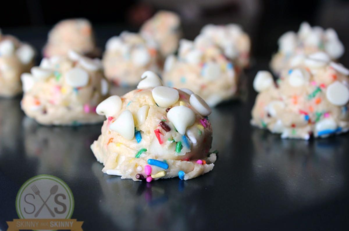 white chip funfetti cookies