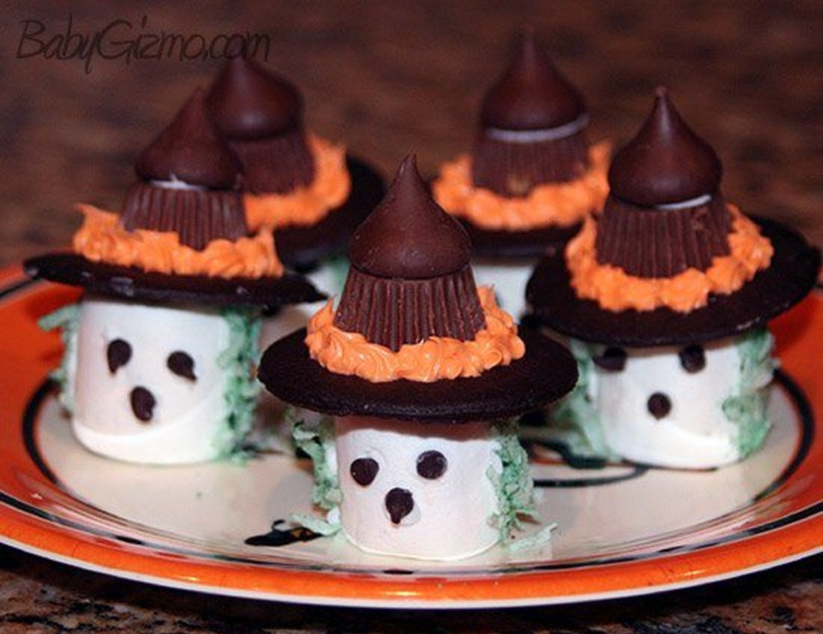 Marshmallow Witches