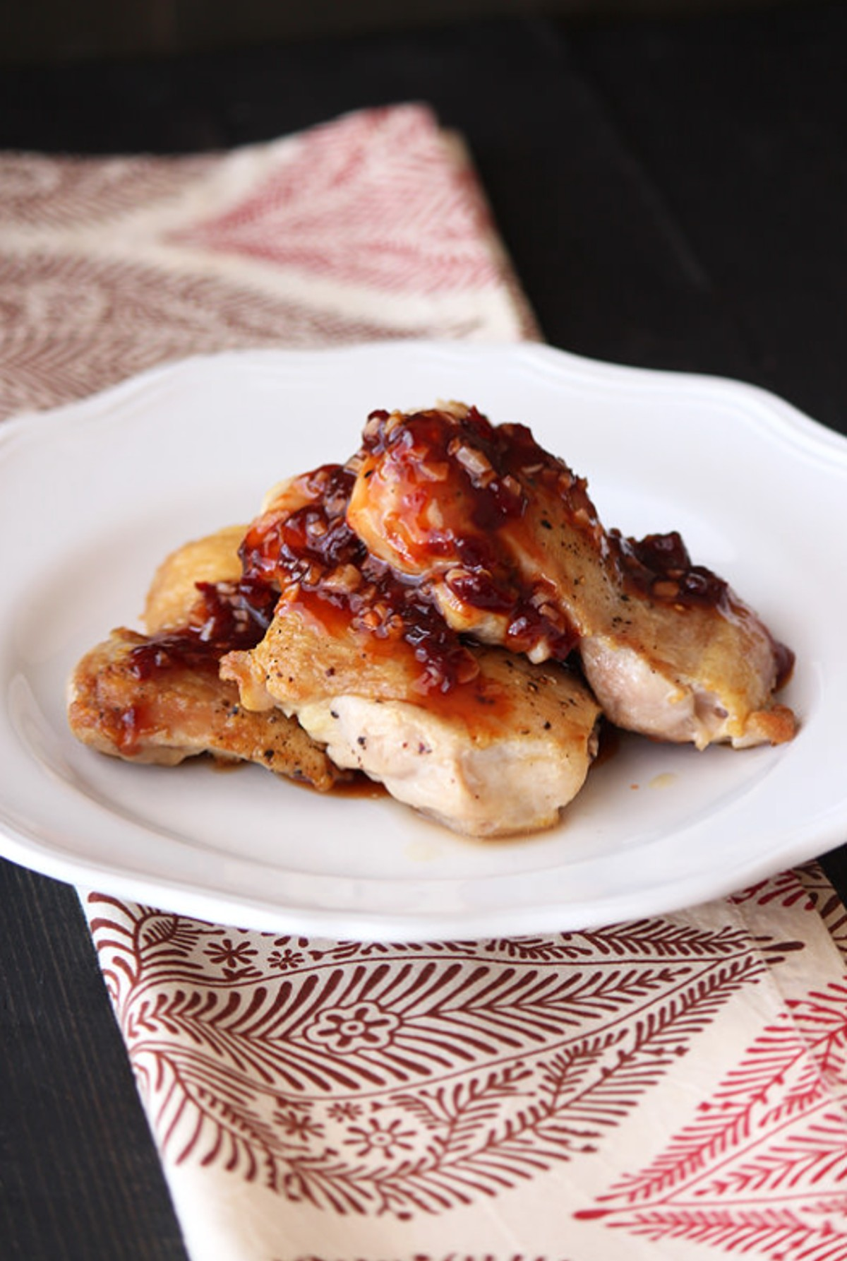 raspberry chicken