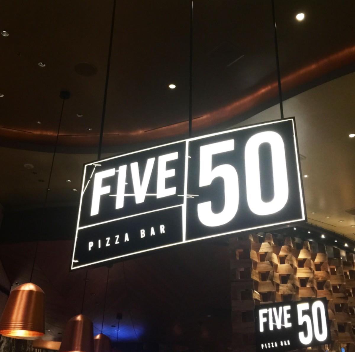 Five 50 Pizza bar