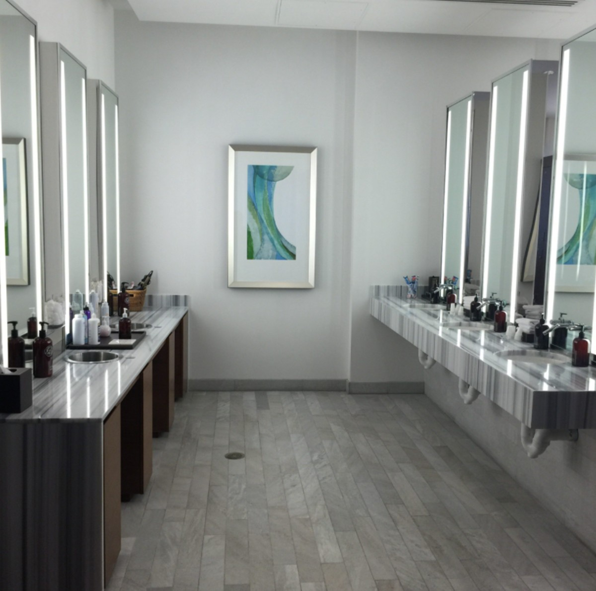 Vdara Spa Bathroom